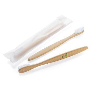 Promotional Bamboo Toothbrush Custom Printed