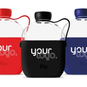 Promotional Hip Sports Bottle Custom Branded with Logo