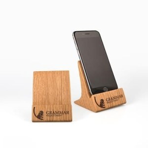 Promotional Products - Real Wood Phone Stand
