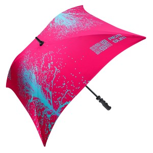 Top View Mini Soft Feel Umbrella Branded with Logo