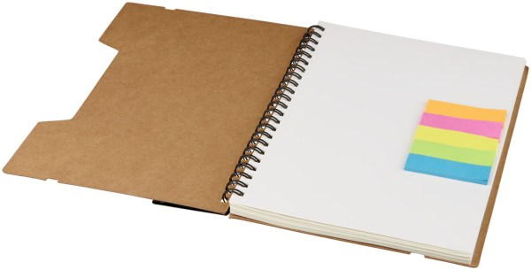 A5 Recycled Notebook Custom Printed with Logo