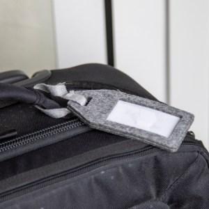RPET Felt Luggage Tag