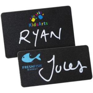 Promotional Blackboard Name Badges