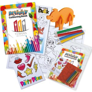 Promotional Kids Activity Packs
