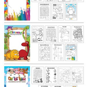 Promotional Kids Colouring Books