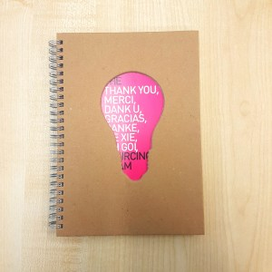 Sustainable Die Cut Notebook