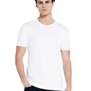 Promotional Organic Men's Slim Fit Jersey T-shirt