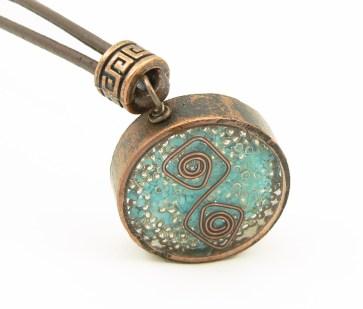 Orgone Energy™ Rustic Copper Pendant