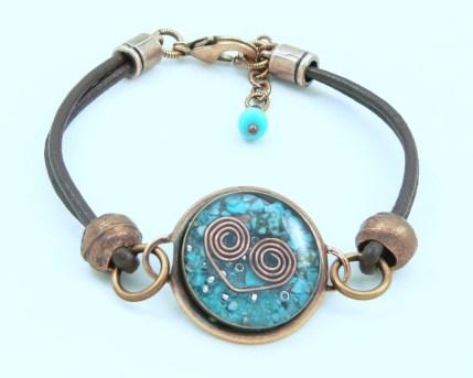 Orgone Energy™ Leather Friendship Bracelet