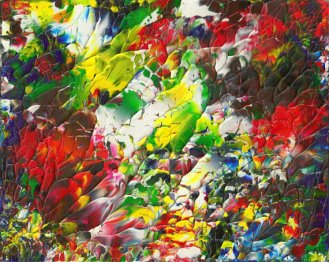 """""""Flower"""" Abstract Painting"""