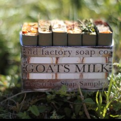 Goats Milk Organic Soap Sampler-1