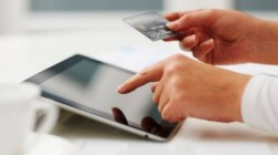 shopping online mobile device