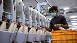 Global Yarn and Fabric Production Declines