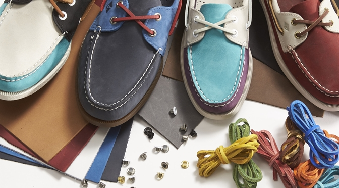 Sperry Launches Customizable Boat Shoes