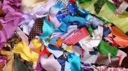 Fabric, scraps