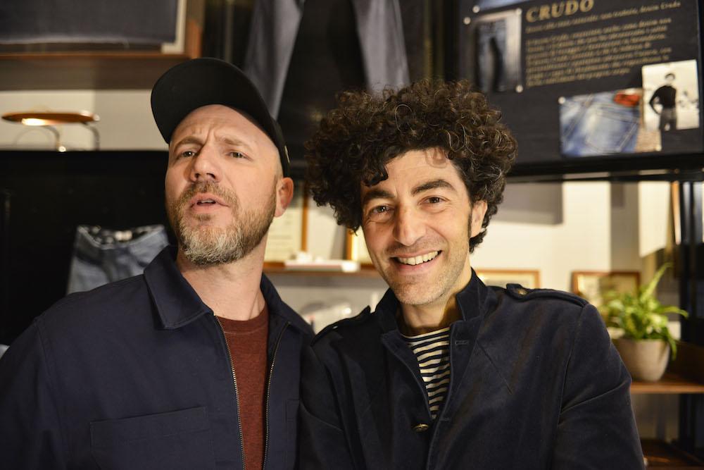 Alberto Candiani and Fabrizio Consoli