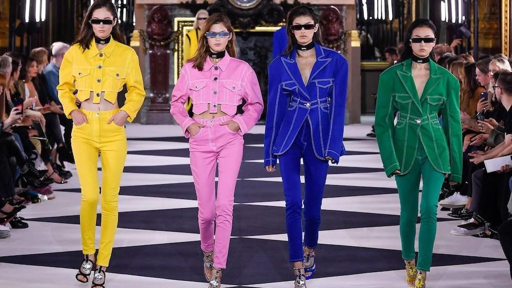 When Is Paris Fashion Week 2020.Designers Search For A Singular Denim Trend At Paris Fashion