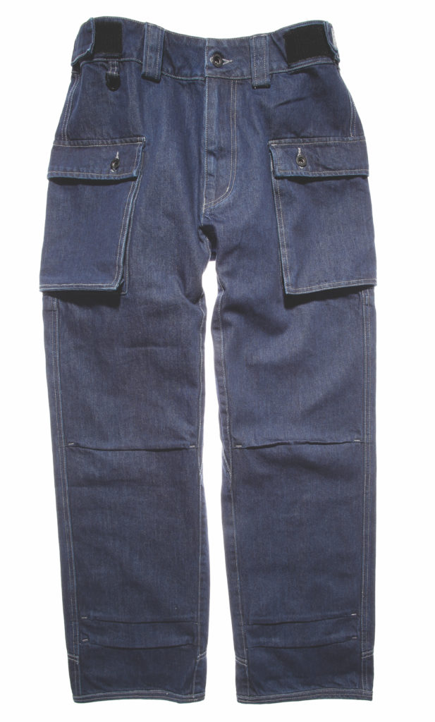 Cotton and hemp jeans by Prosperity Textile