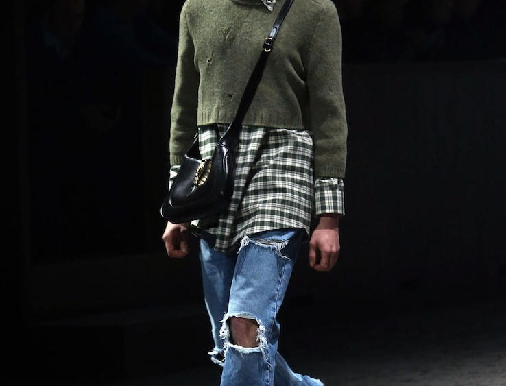 Designers Like Gucci Armani Mix Decades At Milan Fashion Week Men S Sourcing Journal