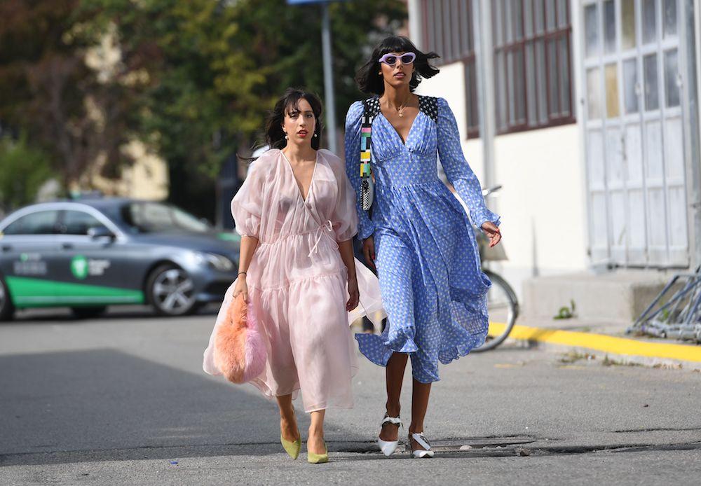 Prom style at Copenhagen Fashion Week