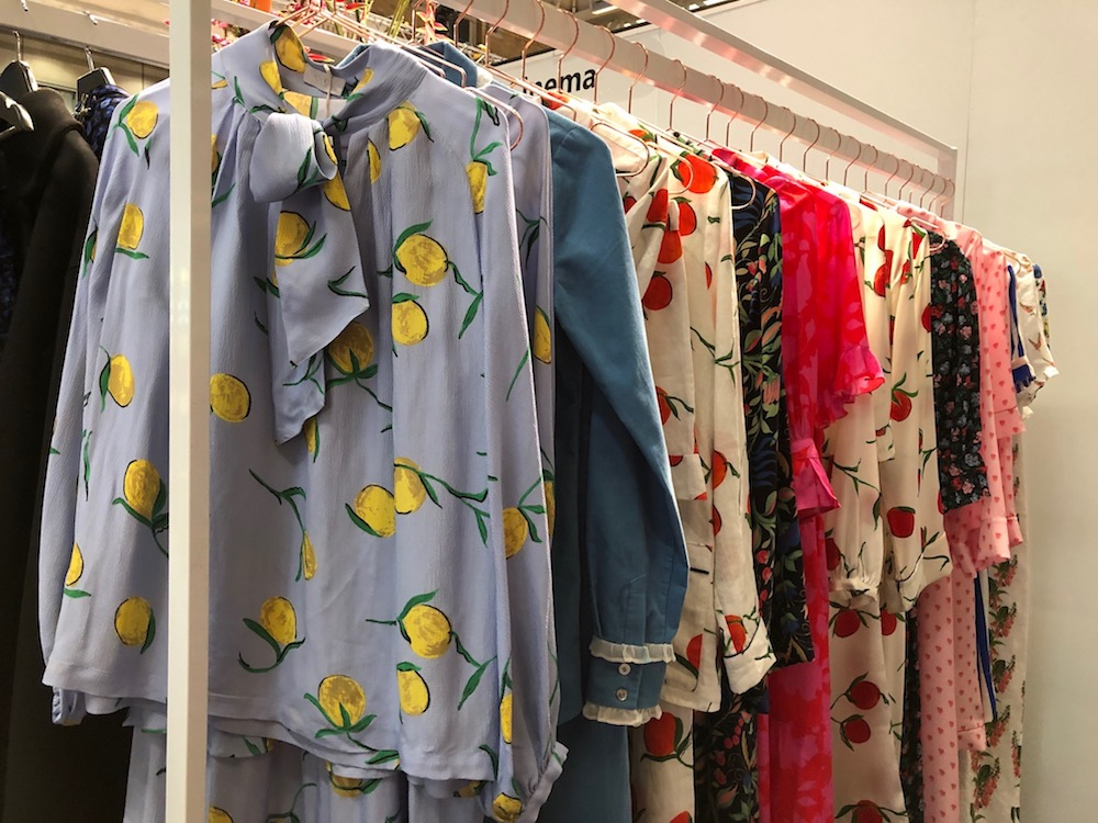 Fashion made for the 'gram enlivened contemporary women's collections at Scoop in London.