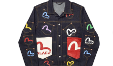 Evisu's Collaboration with Palace Honors the London Club Scene