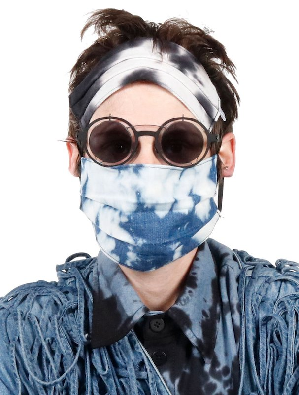 Here are the best face masks made by denim brands that include features for style and comfort—and many also include a charitable component.