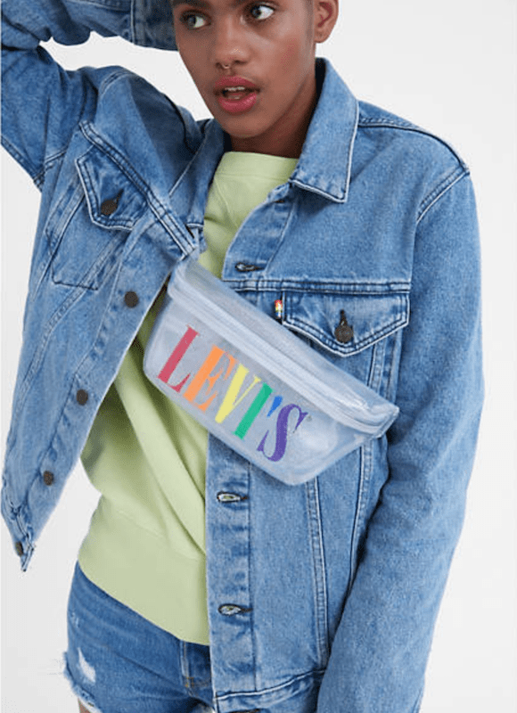 Rivet rounded up top merch from denim brands that celebrate Pride Month and have the charitable contributions and support to match.