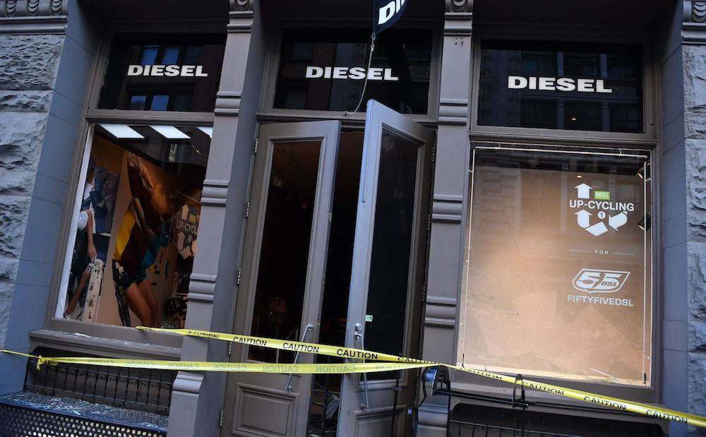 Diesel storefront in the SoHo.