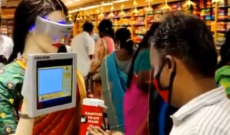 Indian Textile Shop Finds Creative Use for Interactive Robot