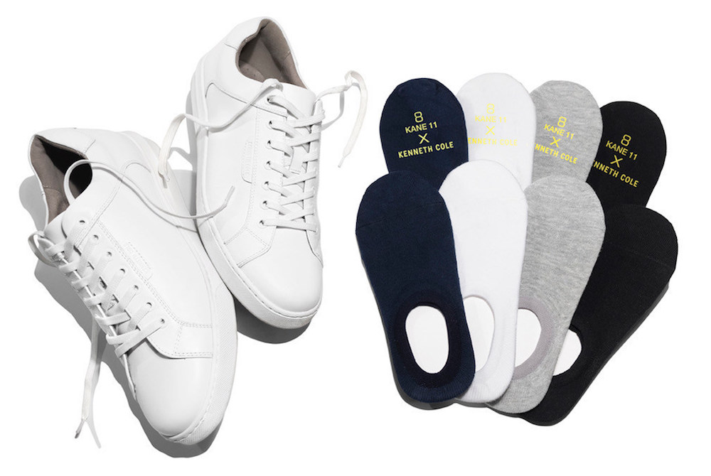 Comfort and fit are at the center of Kenneth Cole's new sock collection.