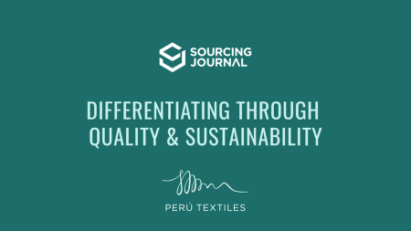 Peru has long been a go-to sourcing partner for high-quality garments, but now the country's textile brand is expanding into sustainability.