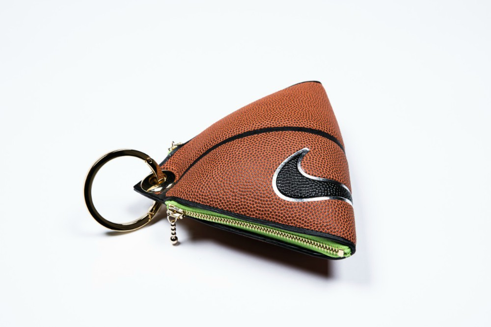 Coin purse keychain from Andrea Bergart, dropping Nov. 21.