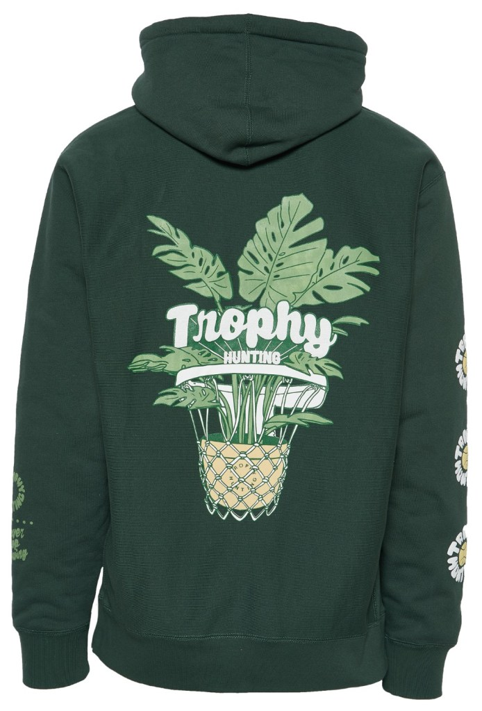 Hoodie from Trophy Hunting, to be released Nov. 21.