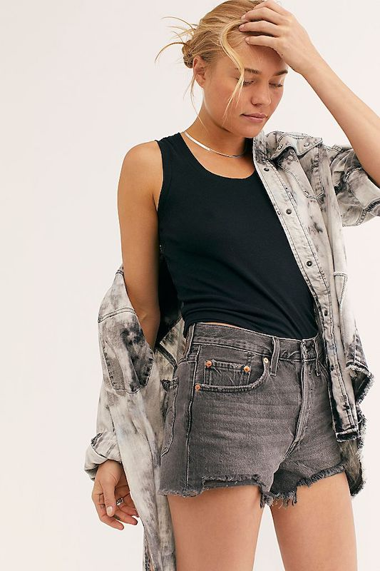 Rivet selected an array of gray denim jeans, skirts, jackets and more to match Pantone's Color of the Year selection for 2021.