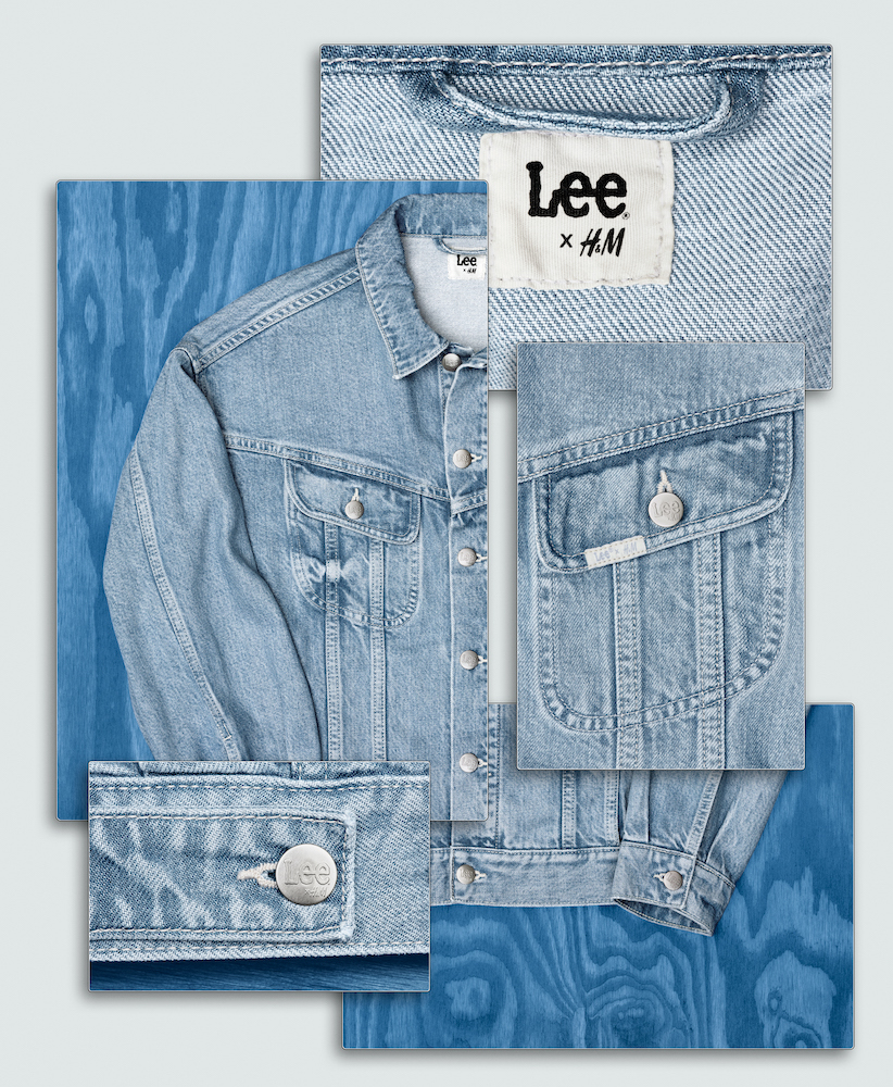 """Lee and H&M have joined forces to create what they're billing as the """"next generation"""" of more sustainable denim."""