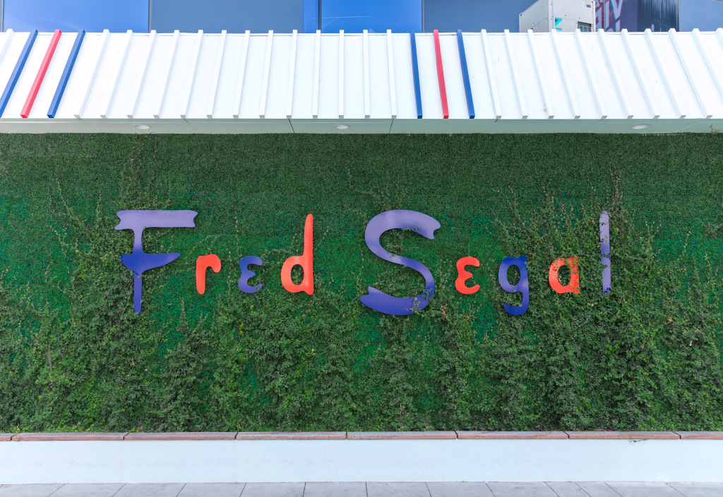 Fred Segal, whose name is well known from the red, white and blue lettered sign of the famous Los Angeles store he founded, died on Thursday.
