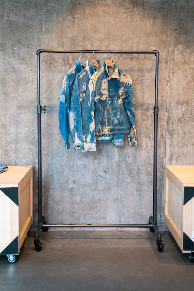 Maurizio Donadi's latest vintage apparel project Transnomadica is running a popup at Fred Segal centered on vintage Japanese denim.