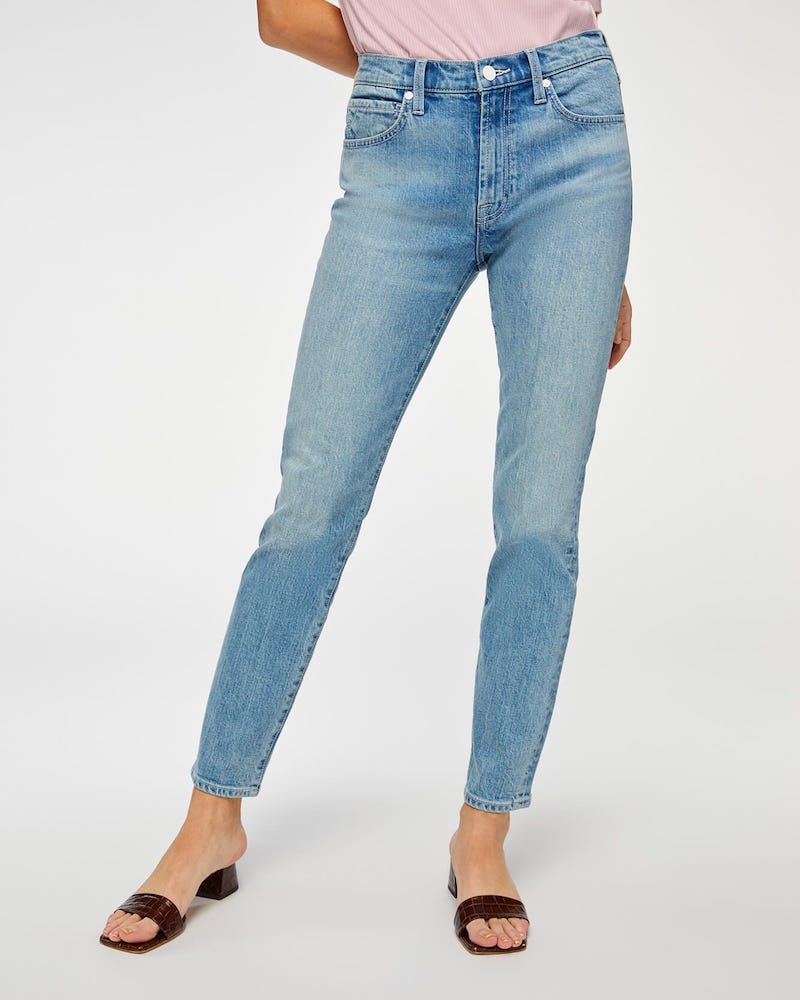 7 For All Mankind debuted the Beauty Jean, featuring collagen peptides and thermoregulation, deodorization and sun protection properties.