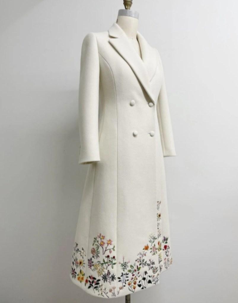 Jill Biden's Inauguration Day coat.