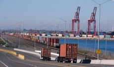 LA Port Truck Drivers Go on Strike