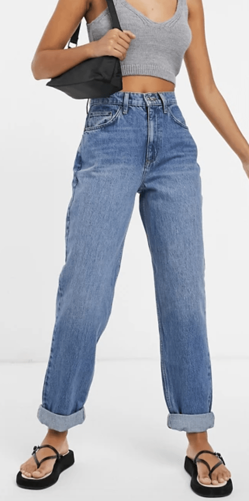 In honor of Mother's Day, gift the cool mom in your life a pair of mom jeans that are both on-trend and comfort-focused.