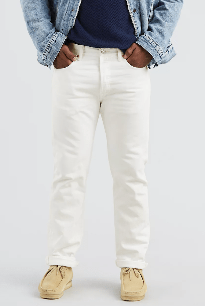 Rivet compiled a list of white denim for men and women that will help you ring in summer in style.