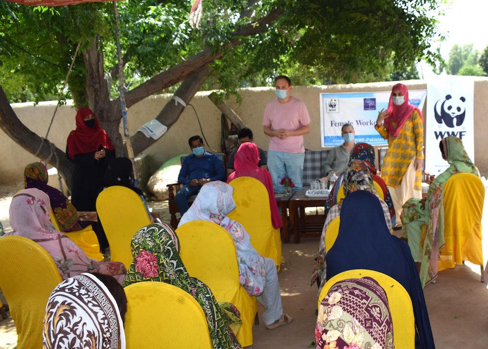 MCI, WWF and Retraced meeting in Rahim Yar Khan