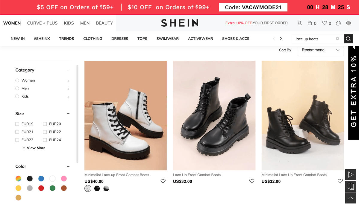 Dr. Martens Goes to War With Shein Over 'Blatant' Counterfeit Boots