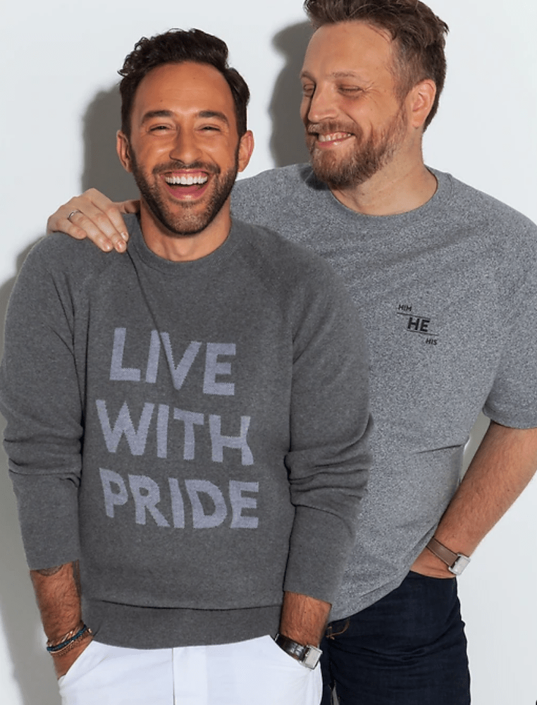 For Pride month, fashion brands showed their support for the LGBTQ+ community, offering collections that celebrate equality in love.
