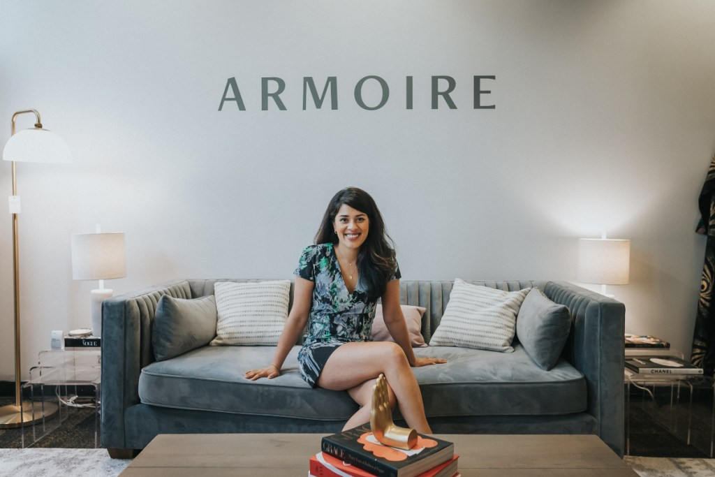 The founder of Armoire Ambika Singh
