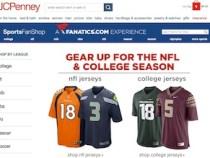 J.C. Penney Launches Online Sports Fan Shop