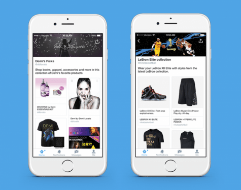 Twitter e-commerce push