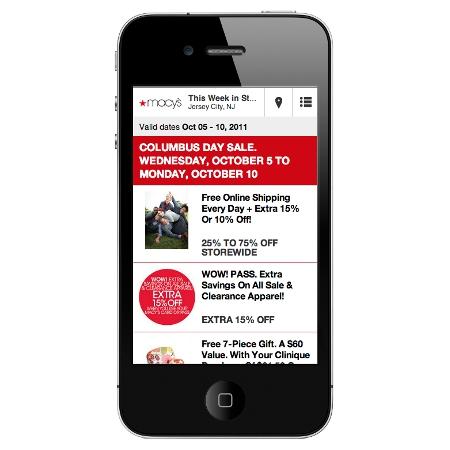 Macys Mobile Ad